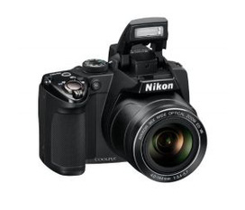 Nikon COOLPIX P500 12.1 CMOS Digital Camera with 36x NIKKOR Wide Angle Optical Zoom Lens and Full HD 1080p Video Black