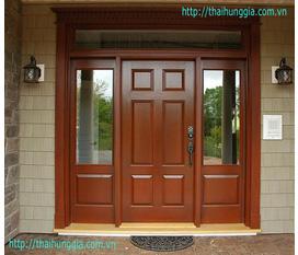 Cửa gỗ đẹp, cửa gỗ hiện đại giá rẻ cho mọi nhà