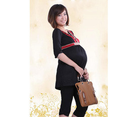 Quần legging lửng/ quần lửng thun, giả bò cho bà bầu thoải mái suốt 9 tháng mang thai giá chỉ từ 50K