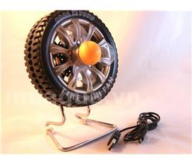 Quạt mini hình bánh xe