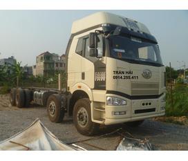 FAW 350 hp tải thùng cabin sat xi 4 chân nhập khẩu nguyên chiếc năm 2012