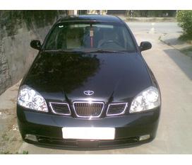 Bán xe Daewoo Lacetti sản xuất 2005 màu đen
