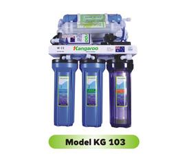Máy lọc nước Kangaroo KG 103, 6 lõi lọc, vỏ inox không nhiễm từ