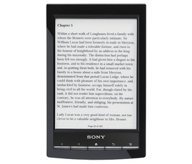Sách điện tử Sony PRS T1 6 Digital E Ink Pearl eReader with Wi Fi Black
