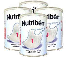 Sữa Pháp cho bé . Sữa Nutriben , Gallia , Physiolac , Picot , Danlait