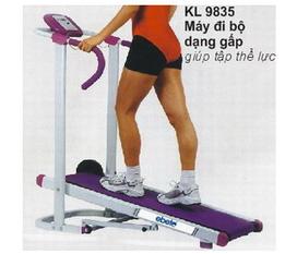 Máy tập chạy bộ cơ KL9835,dụng cụ thể thao,máy chạy bộ các loại