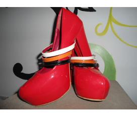 8 đôi giày siêu cao gót made in HQ sành điệu thanh lý siêu rẻ, tặng kèm quần jean, váy vóc