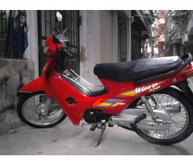 Bán Wave Thái 110 màu đỏ, biển R