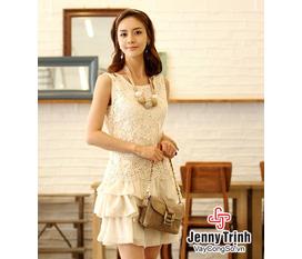Váy công sở, váy công sở đẹp, váy công sở hè 2012, váy công sở Jenny Trịnh phong cách Hàn Quốc
