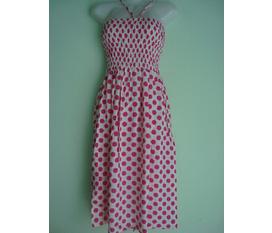 Đầm chấm bi cực kute giá rẻ