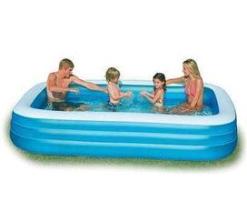 Mùa hè đã tới, bể bơi thông minh cho bé thỏa thích vẫy vùng ngay tại nhà.