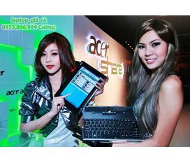 Bán Laptop Tablet cảm ứng, Acer iconia, Dual Core, Wifi, Webcam, LCD 10 LED cảm ứng, giá rẻ 7,5tr
