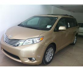 Toyota : Sienna Limited 2012 / màu bạc, màu vàng cát ,màu trắng/ xe mới 99,9%, giá tốt nhất .
