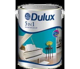 Sơn Nội thất cao cấp Dulux 5 in1 Sắc màu thành công Khuyến mãi lớn đến 30/06/2012