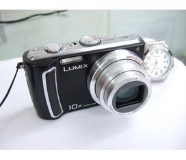 Bán máy ảnh siêu zoom Panasonic Lumix TZ5, 10mp, zoom 10x, LCD 3 inch, máy đẹp , hoàn hảo