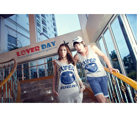 LOVER DAY Thời trang đôi Hot summer collection 2012