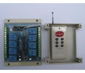 Bộ điều khiển từ xa sóng RF 2 kênh,4 kênh, 6 kênh, 8kênh,10 kênh và 12 kênh