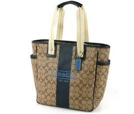 Túi COACH tote bag heritage signature stripe tote bag, hàng chính hãng, ship trực tiếp tại Mỹ , hàng hiệu , phong cách