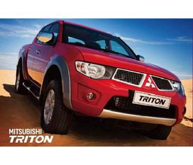 Bán xe bán tải Mitsubishi Triton nhập khẩu nguyên chiếc hỗ trợ lệ phí trước bạ 19 triệu