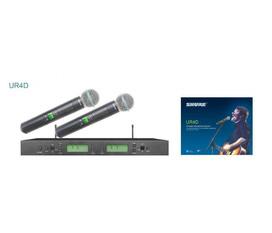 Micro khônng dây cao cấp Shure UR4D giá rẻ nhất thị trường