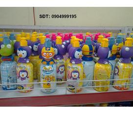 KLS topic cho bé: Sữa tắm, dầu gội kiêm xả của PORORO... Mật Ong chanh... khuôn GjmBap .... All from KOREA .. hot