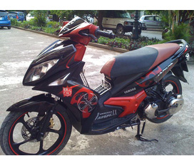 Cần bán Nouvo Lx135 đời 2009 mầu đỏ đen có full ảnh