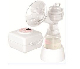 Máy hút sữa mẹ điện tử không có BPA Unimom Allegro cải tiến có mátxa silicon, Korea