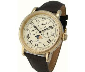 Đồng hồ Eric Edelhausen Calypso Men s Full Calendar with Moon Phase Watch, hàng chính hãng , ship trực tiếp tại Mỹ