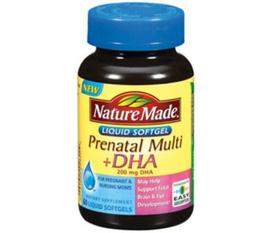Vitamin bà bầu có DHA Nature Made