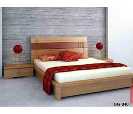 Giường gỗ cao cấp, gỗ tự nhiên Nội thất Kim Anh