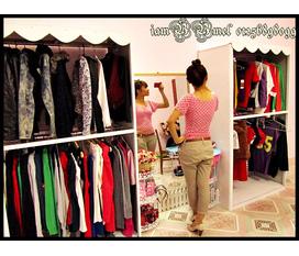 Thanh lý tủ bán quần áo cực đẹp, giá rẻ
