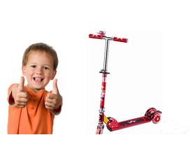 Xe trượt Xe Scooter khuyến khích vận động, rèn luyện sức khỏe cho bé