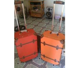 Vali kute bằng da 22inch , thỏa sức du lịch nào