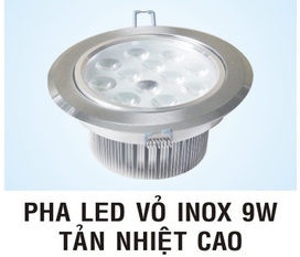 Đèn led 3W ánh sáng trắng giá 108.000 Mắt ếch led 7W nhôm giá 185.000/cái