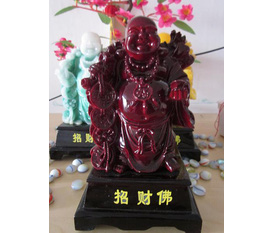 Phật di lặc đá nhiều mầu sắc, kích thước lớn giá tốt nhất