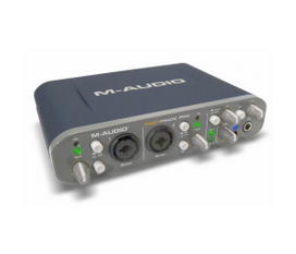 Sound Card thu âm M Audio Fast Track Pro 4x4 Mobile USB Audio/MIDI Interface with Preamps