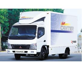 Bán trả góp xe tải Mitsubishi mới sản xuất năm 2012
