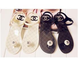 Sandal CHANEL nhựa 170k