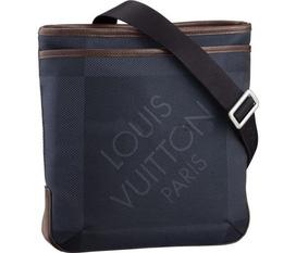 LV Messenger Bags Damier Geant Canvas và Thắt lưng Gucci