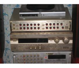 Cần bán dàn âm thanh đang sử dụng hát karaoke tại gia đình rất tốt mới 99%, nguyên thùng hộp, có bán riêng từng thiết bị