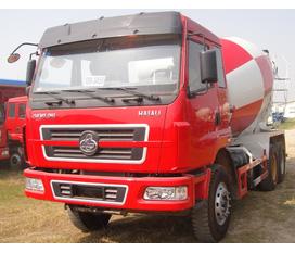 Xe trộn bê tông, xe xúc đào, xe xúc lật, xe nâng chính hãng Dongfeng, Liugong, CIMC