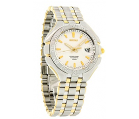 Đồng hồ Nam seiko arcadia perpetual calendar white dial two tone dress LL180
