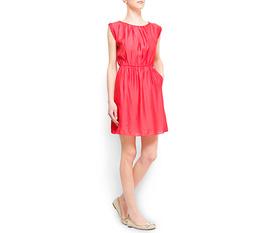 Váy mango, size xs, giá 600K, màu đỏ.