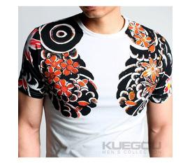 Áo thun họa tiết xăm YAKUZA độc, chất chơi Thương hiệu Nhật Bản KUEGOU Jeans