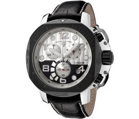 Đồng hồ Swiss Legend Men s 10538 02S BBP Scubador Collection Chronograph Black Leather Watch,hàng nhập khẩu tại Mỹ