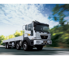 Xe tải DAEWOO 3 chân, xe tải DAEWOO 4 chân, xe tải Daewoo 3 chân 4 chân NKNC, 2012