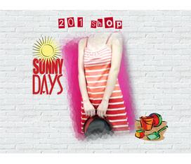 201 SHOP: Khai trương giảm giá cho mùa hè xinh yêu