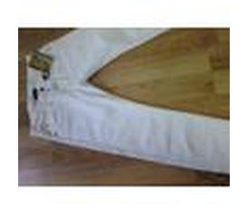 Hàng xách tay USA .Quần Jean Levi s Capital E Matchstick slim straight , Màu trắng. Made in USA.