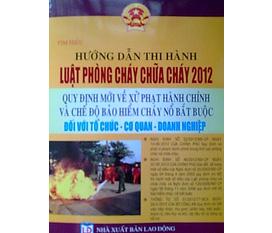 Hướng dẫn thi hành Luật phòng cháy, chữa cháy 2012 mới nhất