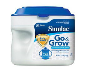 Sữa Similac Go Grow Dành cho trẻ từ 9 đến 24 tháng tuổi, phát triển tối ưu cho não của bé